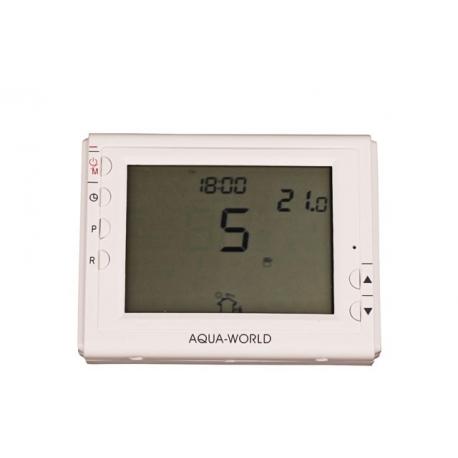 Термостат кімнатний з дісплеєм програмованний