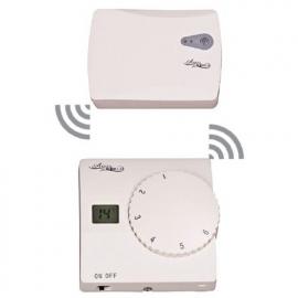Термостат кімнатний з дісплеєм не програмованний радіо пара