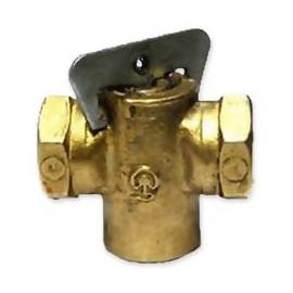Б1124А Кран газа конус G-1/2 1-Мая