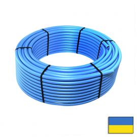 Труба ПНД 25PN 10*2,4 (200) синя