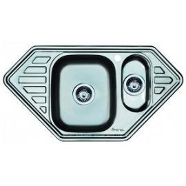 Кухонна мийка врізна кутова Vior 950*500 полірована 180/0,6